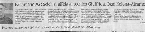 LA SICILIA Reg. 07-02-2014